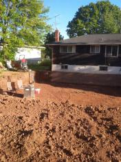 we dig foundations and additions as well